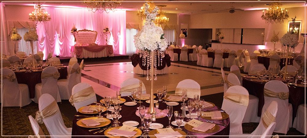Social Events Wedding Receptions Corporate